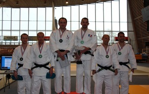 Qualification pour le championnat d'Europe de Kata